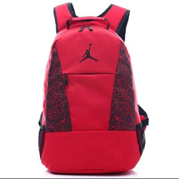bf7ff258f040 Air Jordan Mens Full Size backpack NWT